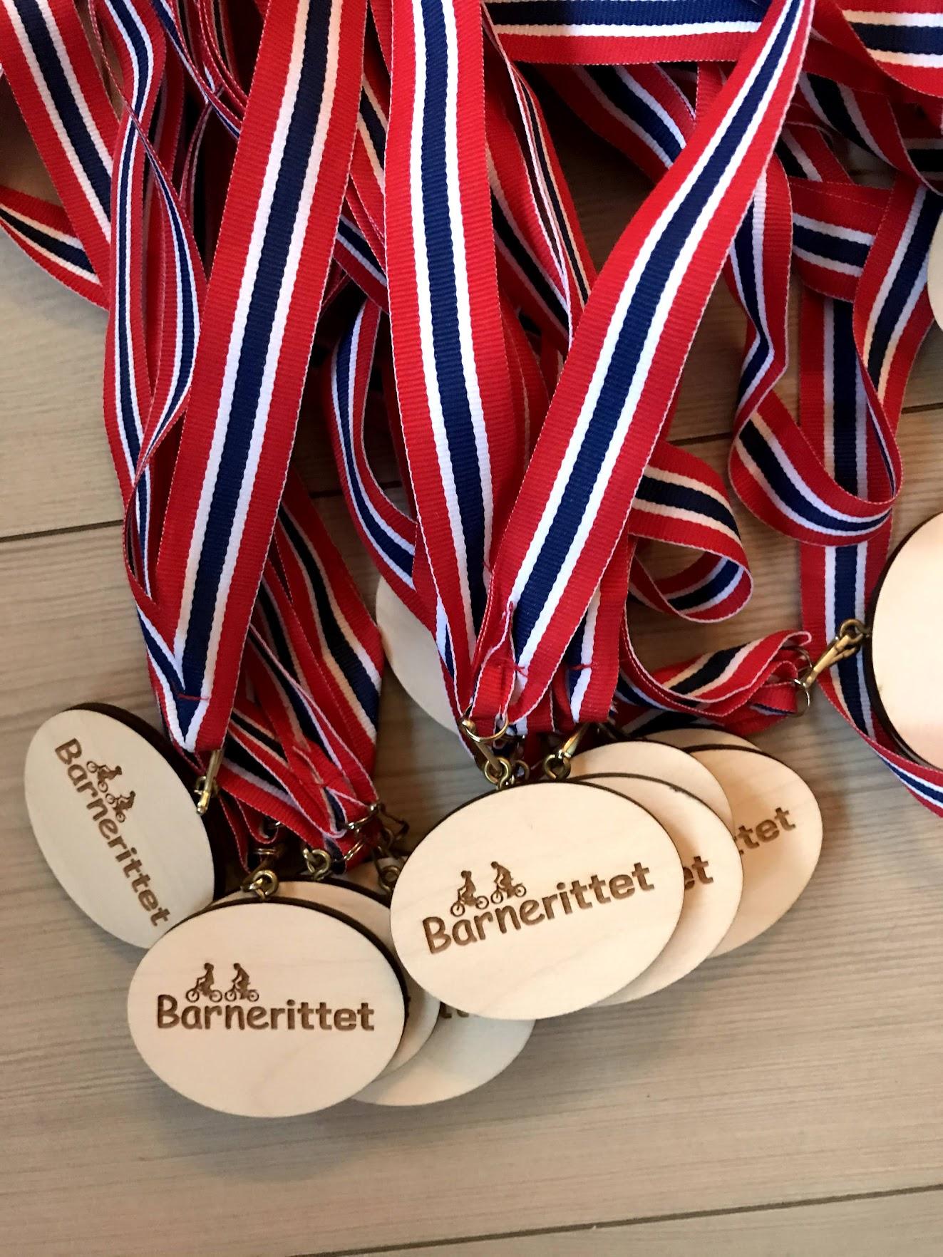 Barnerittet medaljer